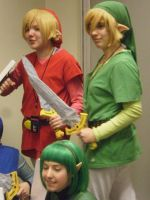 Red and Green Link by PotTori