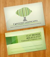 Capstone Landscapes Business Cards by ipholio