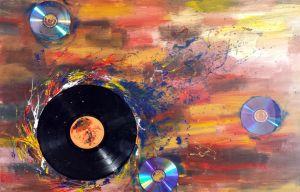 Music Abstract by ynnej555