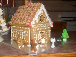 Gingerbread House (3) by jess13795
