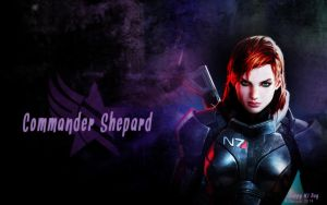 N7 Day - Shepard by Belanna42