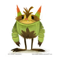 DAY 348. Quilladin by Cryptid-Creations