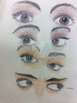 Eyes Practice by ematati97008