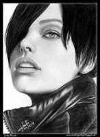Milla Jovovich by iSaBeL-MR