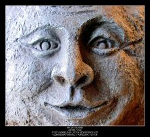 Stone Face by Angelrat-Stock
