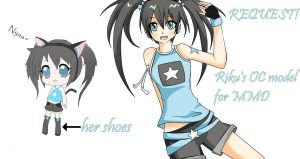 MMD MODEL REQUEST! by hadafifi
