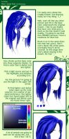 To Aki: How I Color Hair by Hsiu