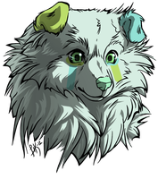 Fluffy Puppy Adopt + Icon - Adopted by Feralx1