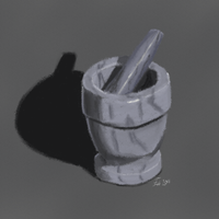 Life Study - Mortar and Pestle by Songwind