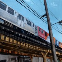 Chicago El Train by LessThanDressed