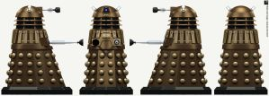 Time War Dalek by Librarian-bot