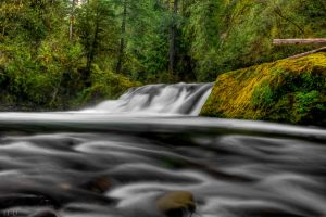 Salmon Creek Falls HDR 2 by 11thDimensionPhoto