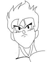 Gohan. by monsterabound