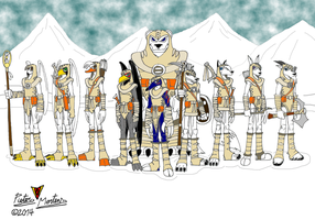 Polar Warriors by DragonSnake9989
