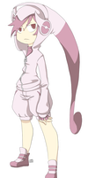 Gijinka New Mewtwo - Pokemon X and Y by Kehmy