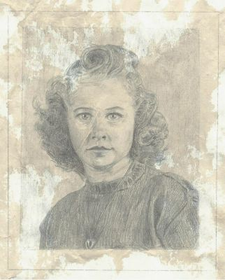 Portrait of my Grandmother by KingOfSoul81