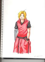 Edward in rangers garb by creativegoth18