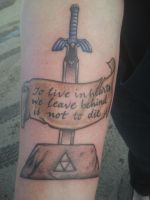 My New Tat by Ladywiththeface