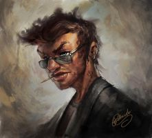 Cool guy by 88grzes