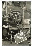 Drummers Are Hot print 4 by SuperSeniorPS1