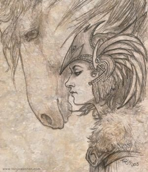 Valkyrie sketch by tygriffin