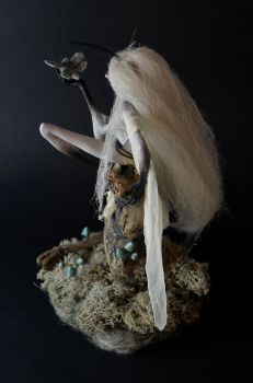 Moth Witch ArtDoll - backview by falauke