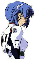 Rei Ayanami by chod