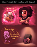 SU - Eyeball fuse (ASK answer) by Tanita-sama