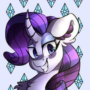 Rarity by pencilshavings13