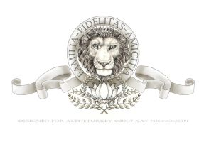 Lion, Lotus, Laurel by Kat-Nicholson