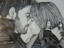 Hook and Emma OUAT by stellaschmn