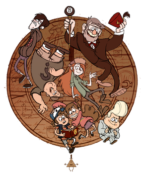 WELOVEFINE GRAVITY FALLS CONTEST by real-faker