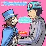 trucy wants a mom by Blue-Fox