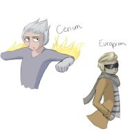 Cerium and Europium by TheClockworkKid
