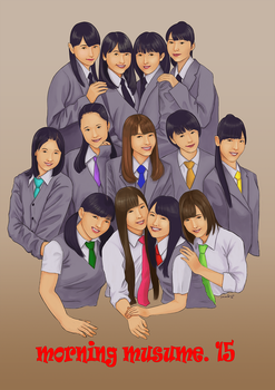 Morning Musume '15 by dear-summer