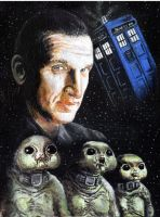 The Ninth Doctor by solman1