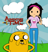 Adventure Time With Me and Jake by Tiffyx