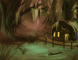 A Witch's Abode by BloodnSpice