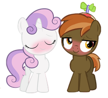 Me And Sweetie Belle :3 by Button-Mash-Da-Gamer