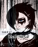 The Land of Black Metal by gazxiii