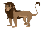 Lion up for Adoption! by Elennaaa