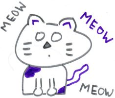Mao the Meow Kitty by xxemoperson13xx