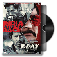 D-Day HINDI Movie Folder Icon by enfieldkay