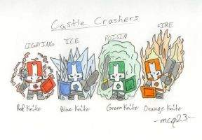 castle crashers by mcq23