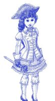the Victorian Pirate Lass by chibi-muse