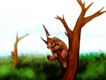 Beardeers In Trees by shibitheshadowhound