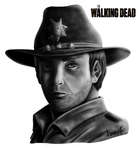 The Walking Dead / Rick Grames by Malebeja