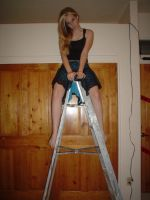 ..On Ladder 2.. by Bloody-Kisses-STOCK