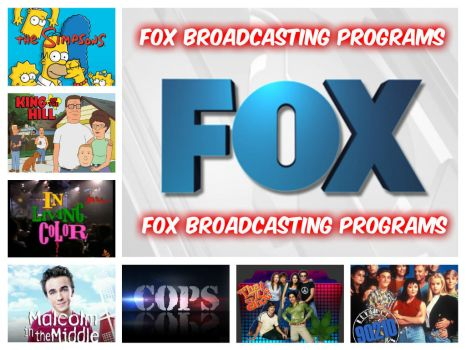Fox Broadcasting Company Collage (2015) by CraigS1996