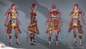ANet2013 Internship Art Test Turns by Alemja
